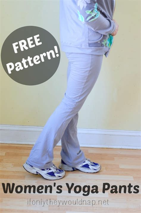 womens pattern yoga pants free yoga pants pattern if only they would nap