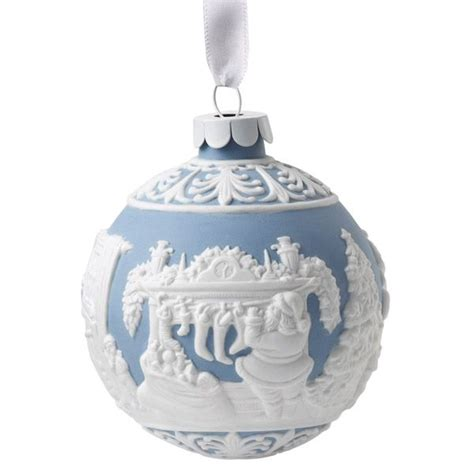 wedgwood night before christmas porcelain christmas ornament