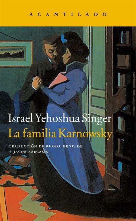 la familia karnowsky editorial acantilado