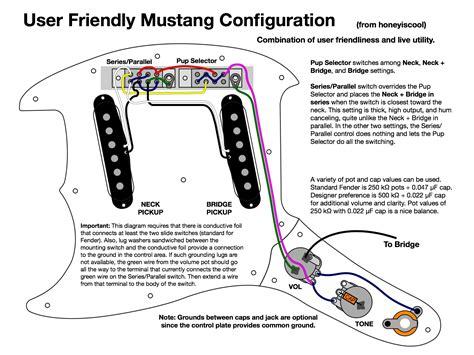 fender mustang wiring diagram wiring diagrams