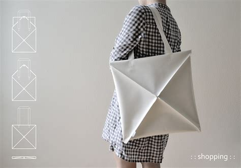 Origami Purses - origami inspired shape shifting bag favbulous