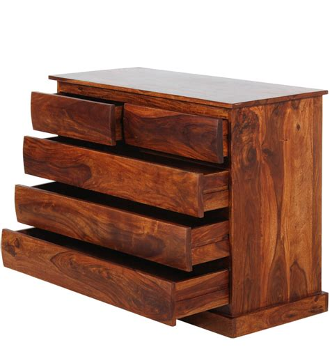 Buy Chest Of Drawers by Buy Valencia Solid Wood Chest Of Drawers In Honey Oak