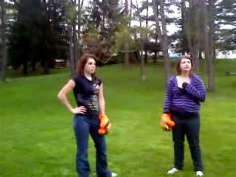 female backyard boxing backyard boxing brawl part 2 youtube