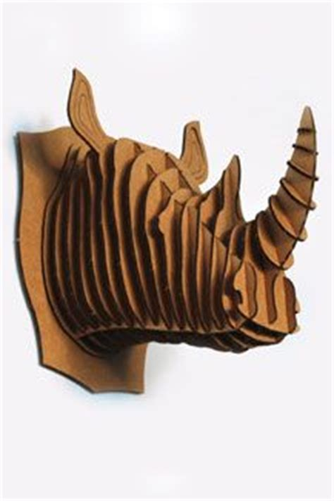 cardboard taxidermy templates cardboard rhino taxidermy products i