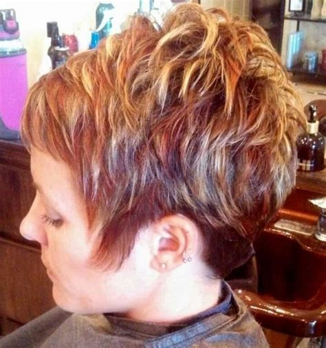 pink highlights hair older women 98 best images about short hairstyles on pinterest short