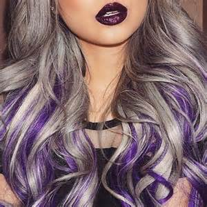 hair designs with grey streaks best 20 purple streaks ideas on pinterest colored hair
