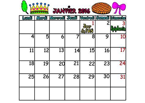 Calendrier 8 Avril Calendrier 2016