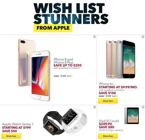 best buy black friday deals on iphone mac apple and more