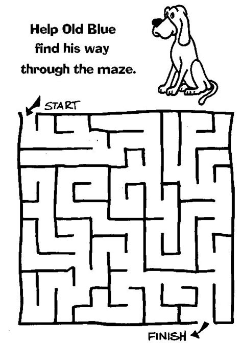 printable dog puzzle 30 best mazes images on pinterest free printable