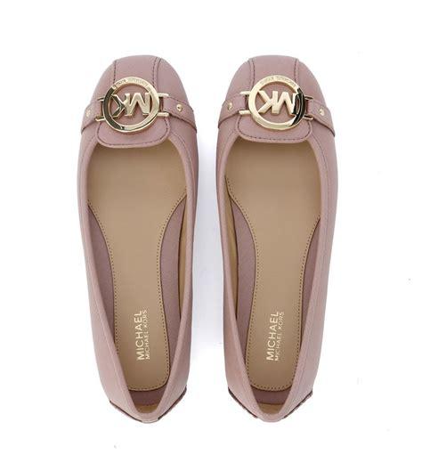 michael kors light pink shoes michael kors michael kors fulton pink saffiano leather