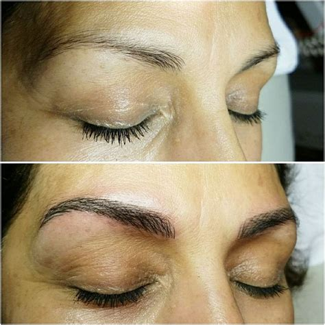 tattoo eyebrows fort worth microblading semi permanent eyebrow tattoo with natural