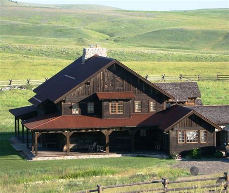 beautiful montana home on ted turner s flying d ranch