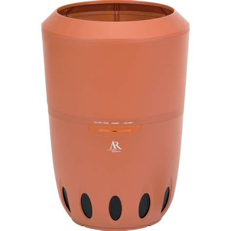 Outdoor Planter Speakers by Acoustic Research Aw828 Wireless Indoor Outdoor Speaker Aw828