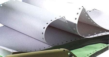 Kertas Continuous Form Ncr 4 Rangkap Ukuran Kwarto A4 Ncr Warna printing a sipahutar 1408 about continuous form