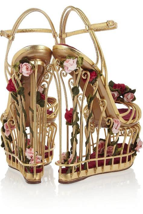 Wnew New Arrival Dolce And Gabbana 6128 new arrivals dolce gabbana cage sandals รองเท ากรงนก