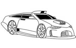Los De Rapido Y Furioso Carros Para Colorear Sketch Coloring Page sketch template