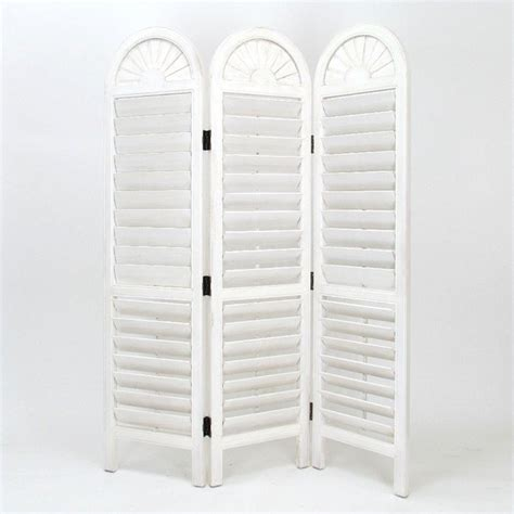 Venetian Room Divider Oakwood White Venetian Room Divider In Whitewash 5300