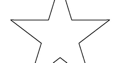 star pattern in c pdf 7 inch star pattern use the printable outline for crafts