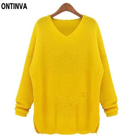 yellow pattern sweater yellow sweaters for women