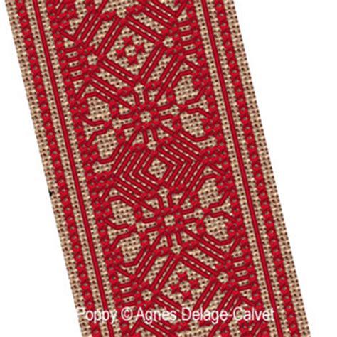 Tapis De 2729 by Agn 232 S Delage Calvet Lace Bookmark Cross Stitch Pattern