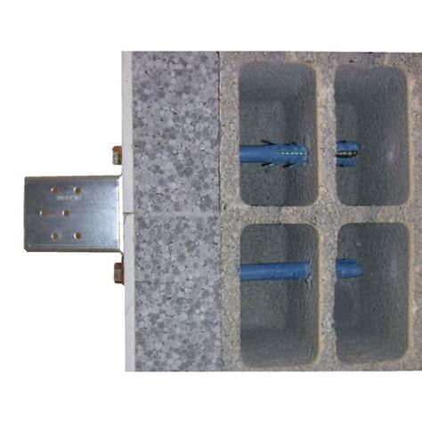 fixation dans parpaing creux 4179 pack de 4 chevilles longues pour parpaings creux avec