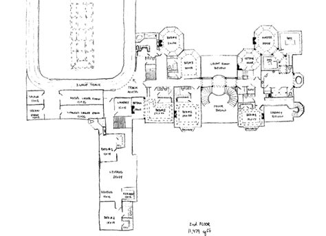 floor plans of mansions floor plans to james mega mansion design homes of the rich