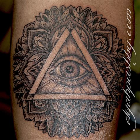 tattoo mandala illuminati illuminati eye mandala tattoo design