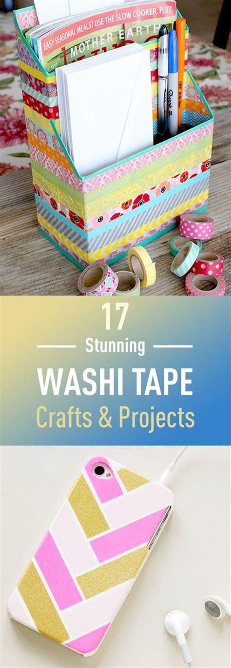 washi tape craft ideas best 25 colored masking tape ideas on pinterest