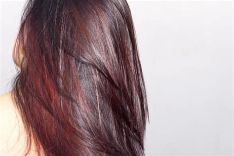 what hair dye color is plum brown brown hairs