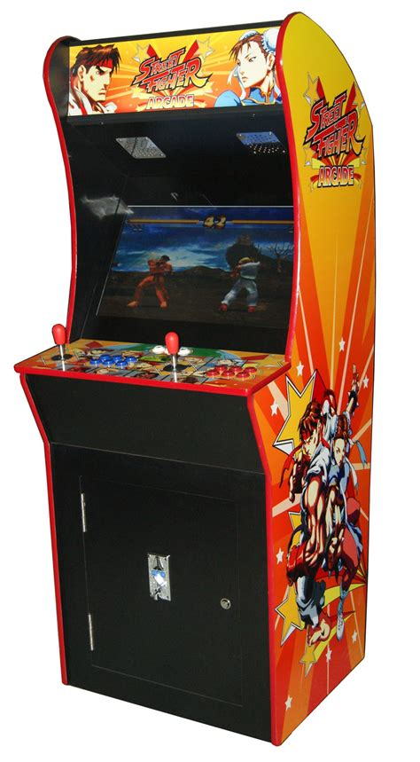 Mini Arcade 2019 In 1 by Arcade Rewind 3500 Upright Arcade Machine Fighter