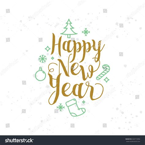 new year design logo happy new year 2017 text design logo typography usable