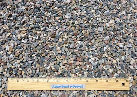 pea gravel acme sand gravel