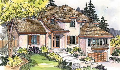 sloping lot house plans sloped land house plans