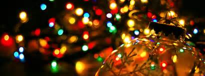 christmas lights ornaments facebook cover free