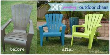 see how i painted plastic outdoor chairs