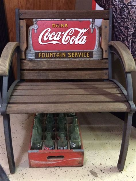 coca cola bench worth 1000 images about coca cola furniture on pinterest