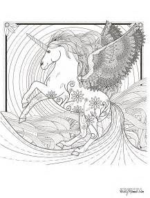 printable coloring pages for adults unicorn 11 free printable coloring pages