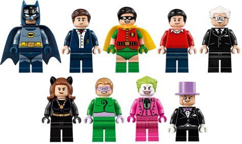 Lego Original Minifigure Batman Series lego adam west 1966 batman tv series batcave set