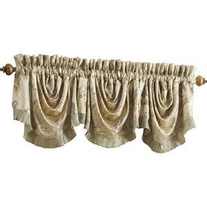 iris rod pocket swag 44 quot curtain valance wayfair