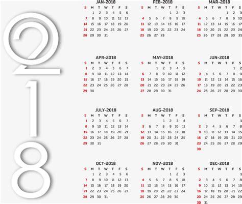 adobe illustrator calendar template 2018 free calendar templates 2018 vector png calendar template