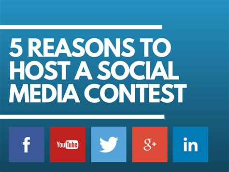 Hosting Photo Contest by 5 Reasons To Host A Social Media Contest 171 Seopressor