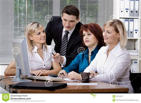 Office Team Office Team Stock Image Image 18712071