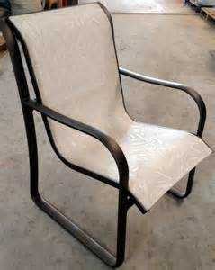 Patio Chairs Replacement Slings Outdoor Furniture Repair Gallery Restoration Photo Gallery