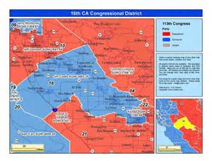 california 16th congressional district jim costa district