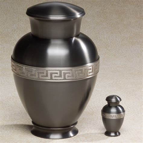 cremation urns urns zeus brass top opening threaded lid cremation urn