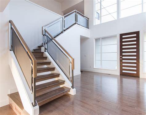 barandillas modernas para escaleras planos de casas modernas y fotos interiores planos de