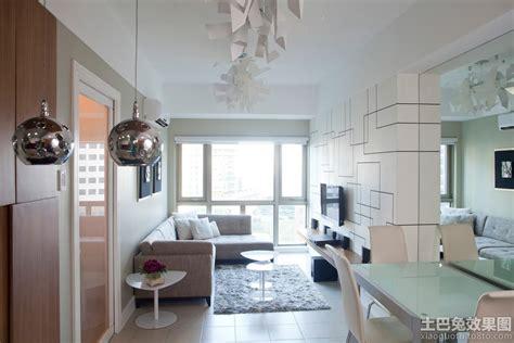 interior design for 1 bedroom condo 简约时尚一居室小户型装修图 土巴兔装修效果图