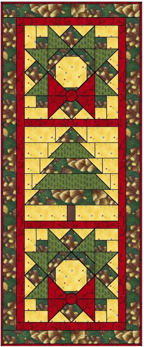 free pattern wall hanging apple avenue quilts santa day fourteen and a free pattern