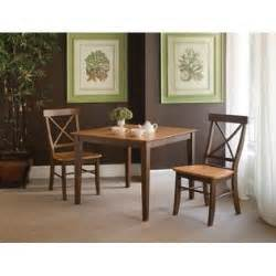 international concepts set of 3 pcs 36x36 dining table