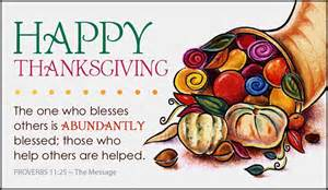 proverbs 11 25 ecard free thanksgiving cards